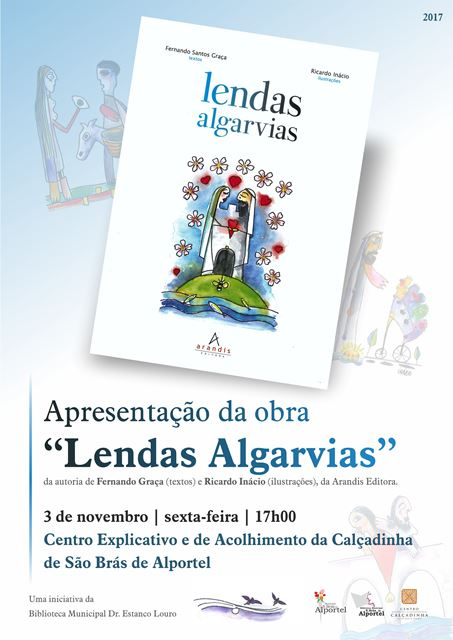 cartaz lendas algarvias