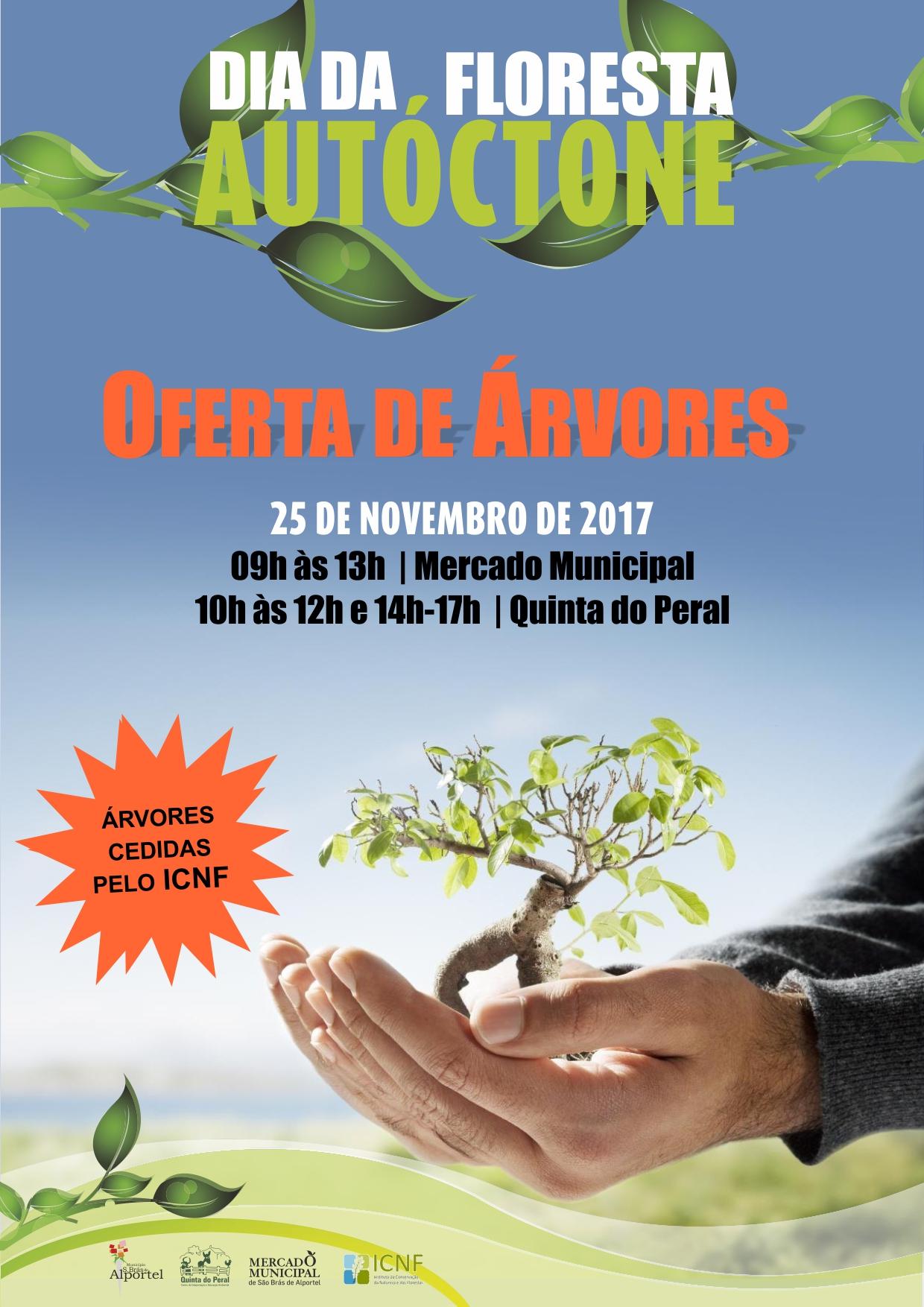 cartaz do dia da floresta autóctone de 2017