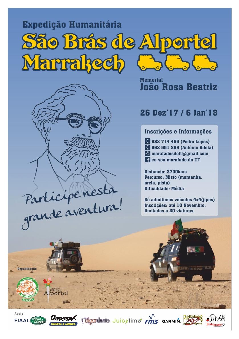 Cartaz São Brás de Alportel - Marrakech