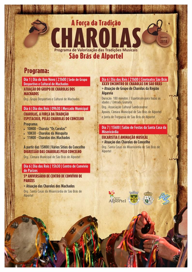 tradição das charolas