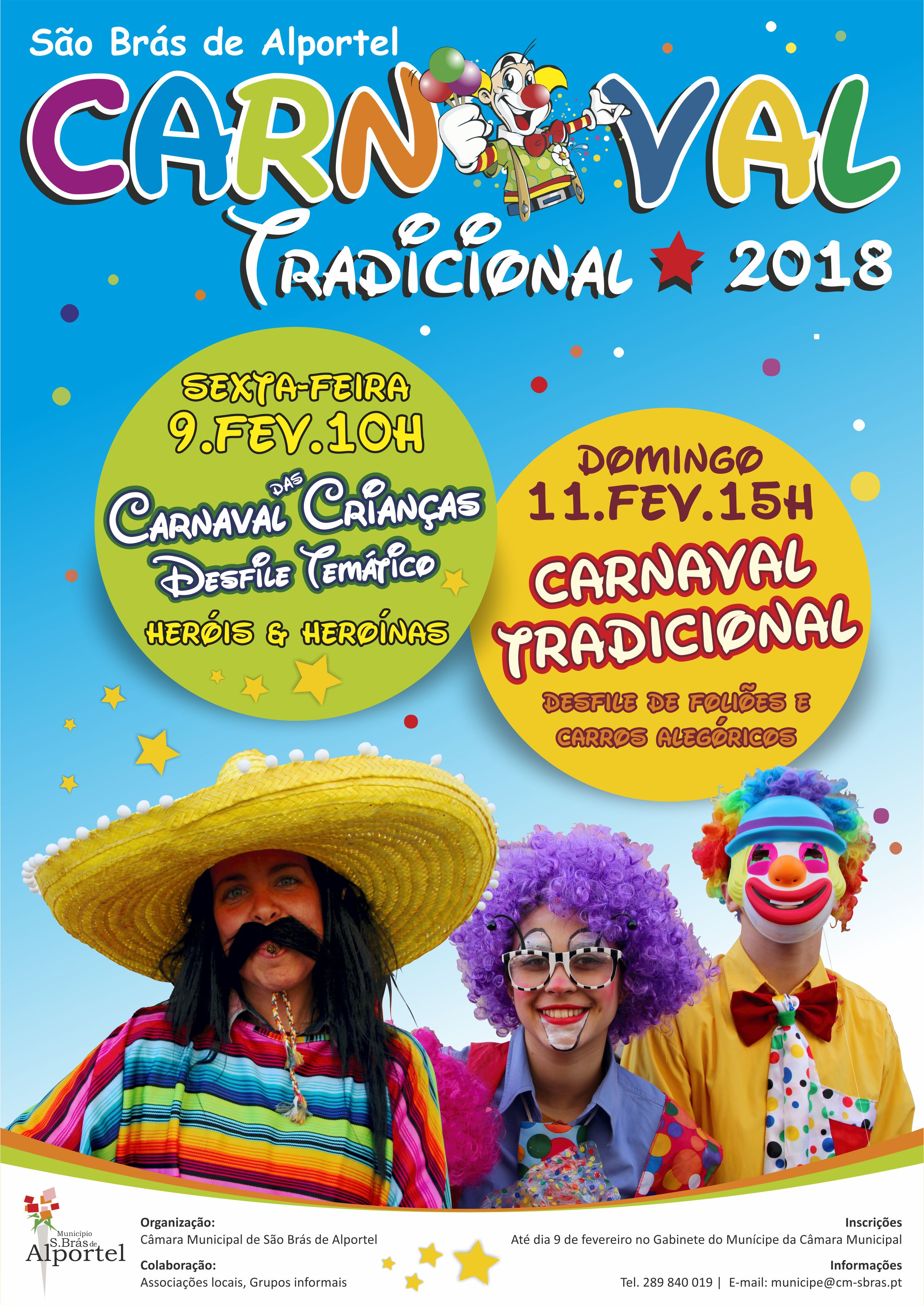 cartaz carnaval de são brás de 2018