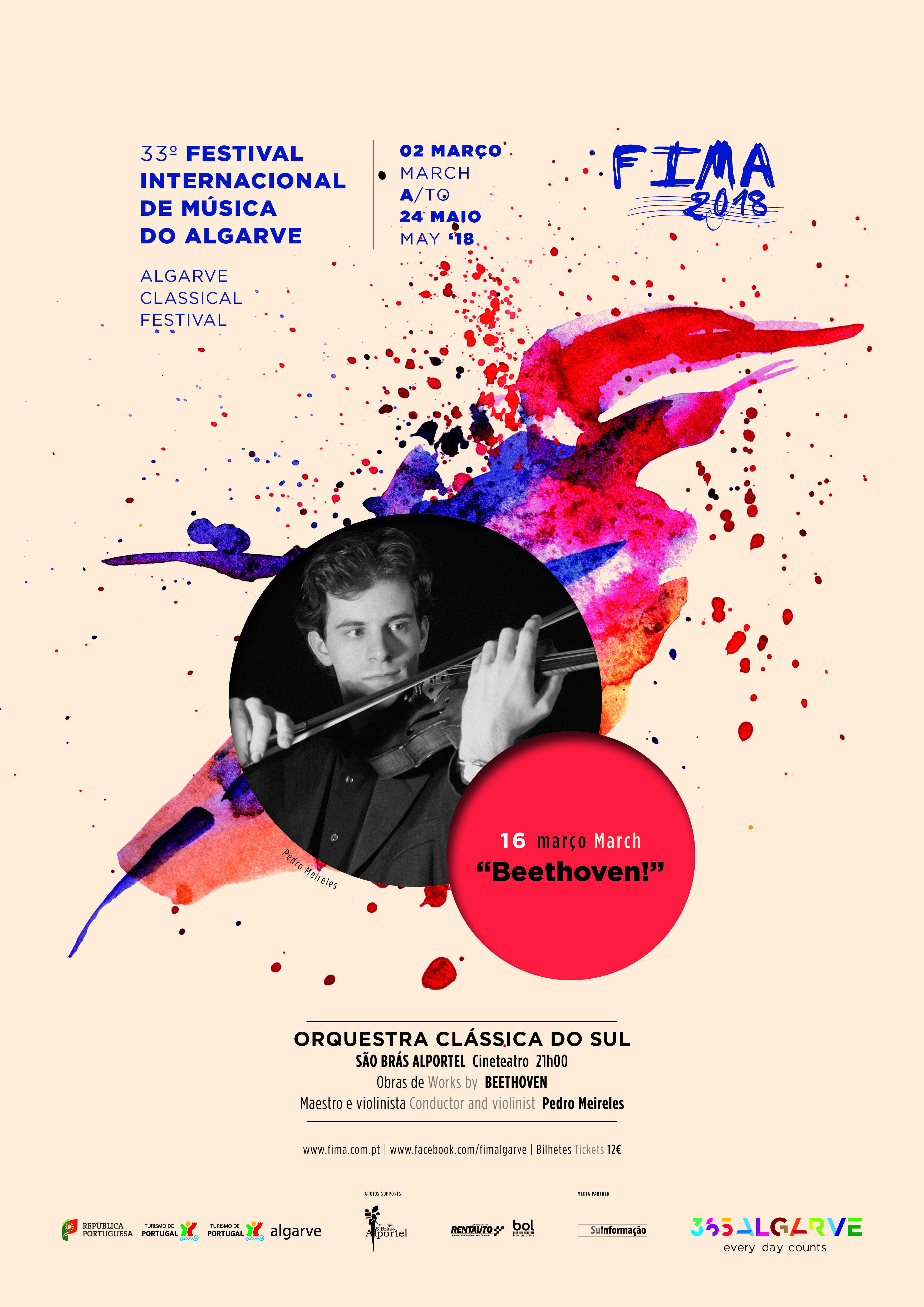 cartaz FIMA 2018 - concerto beethoven