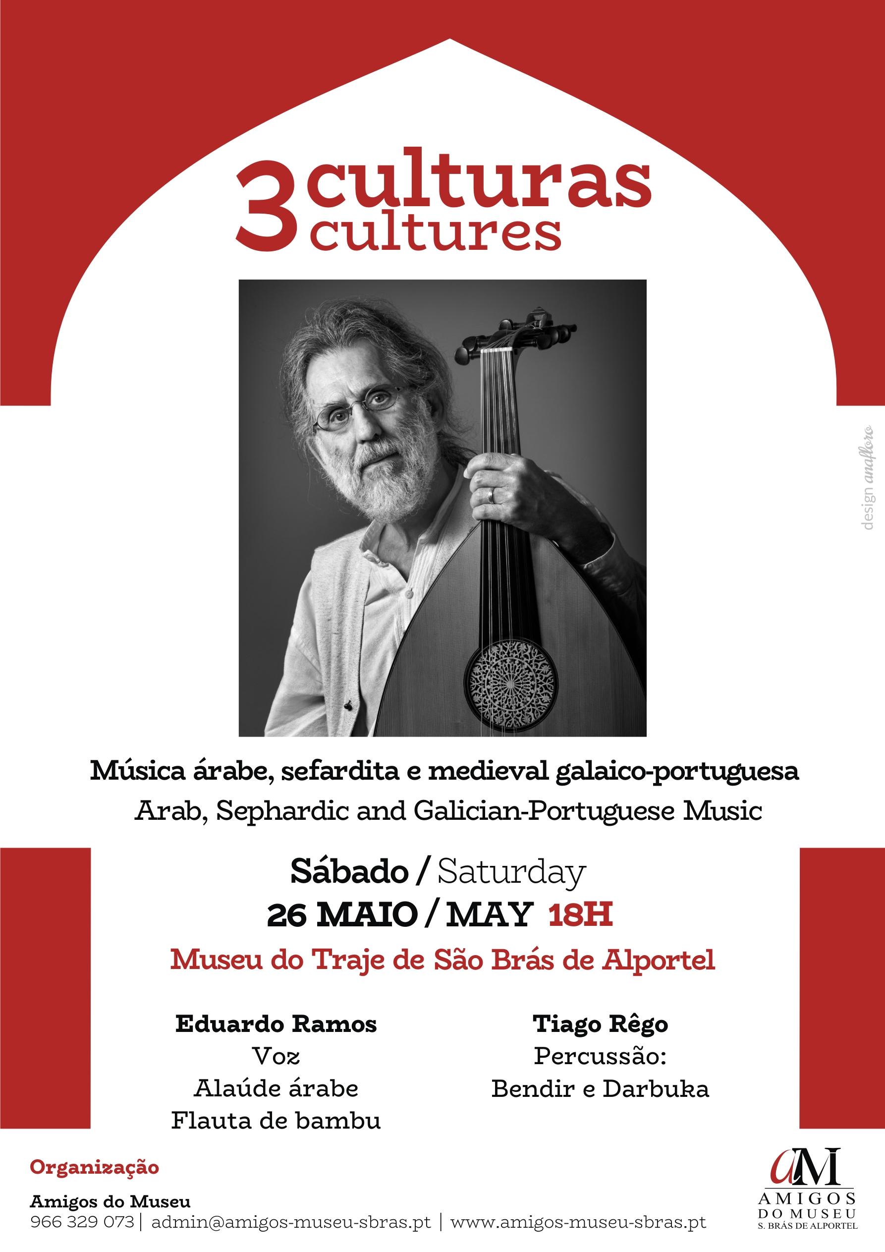 cartaz do concerto 3 culturas
