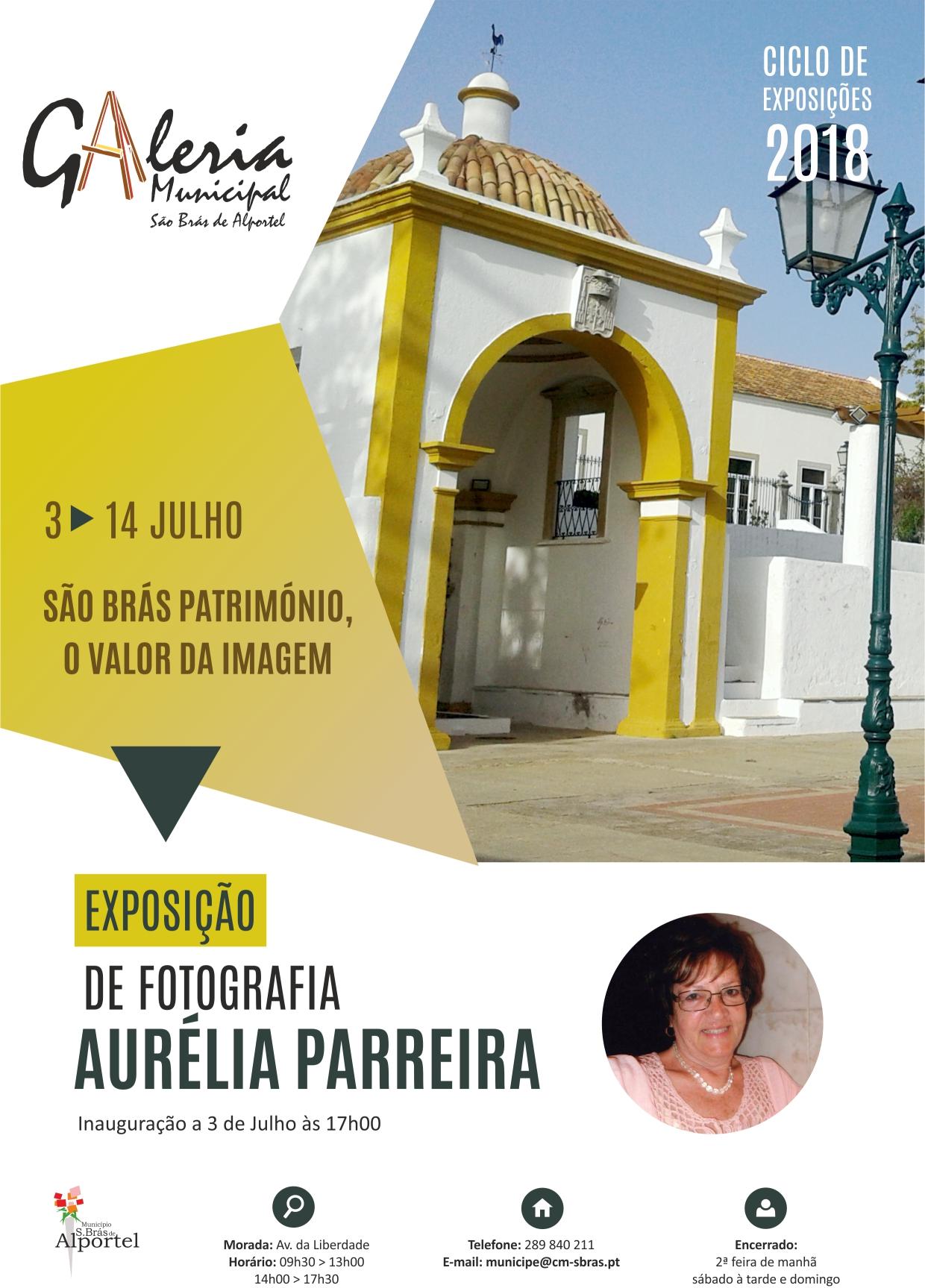 cartaz da exposição São Brás Património, o valor da imagem