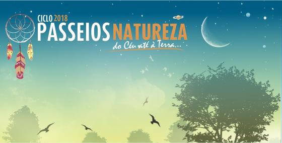 cartaz do ciclo de passeios natureza de março de 2018