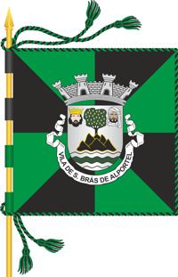 Bandeira da Vila de São Brás de Alportel