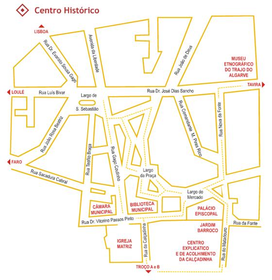 Percurso pelo Centro Histórico