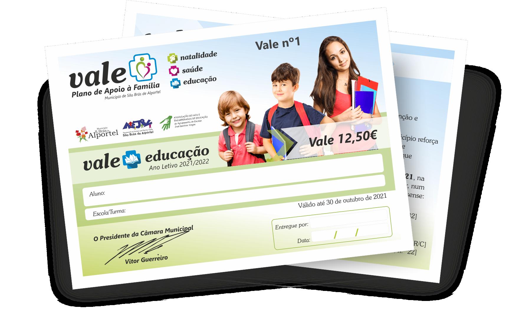 Vale + Educação 2021/2022