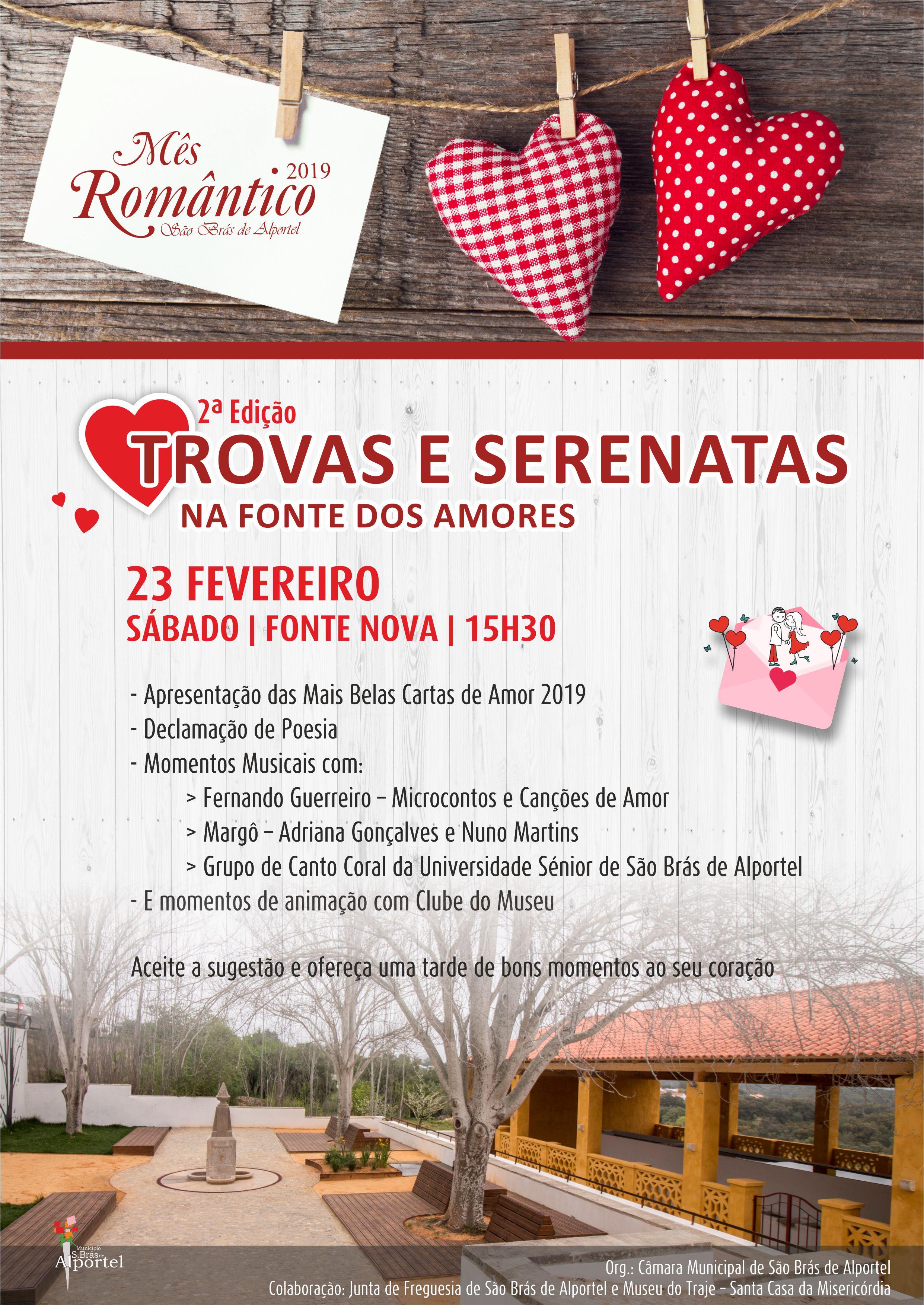 cartaz da 2ª edição das trovas e serenata na fonte dos amores