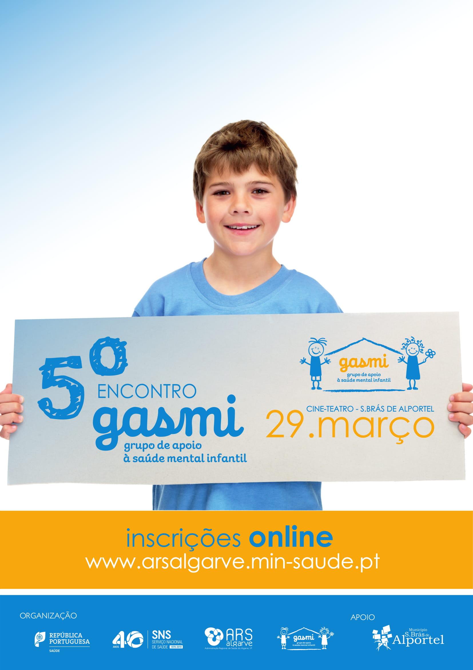 cartaz do 5º encontro do grupo de apoio saúde mental infantil