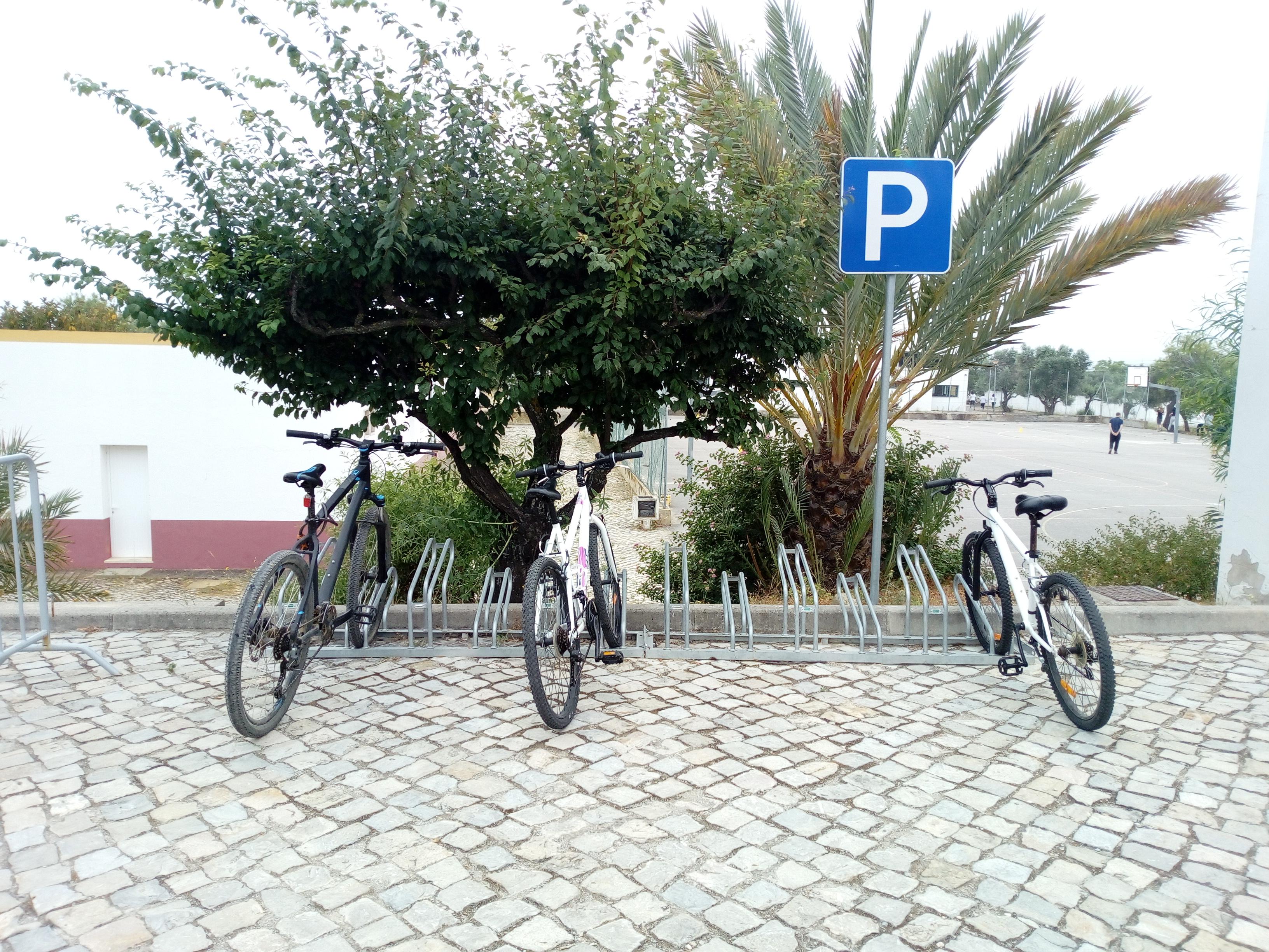 Rede de Estacionamento para Bicicletas